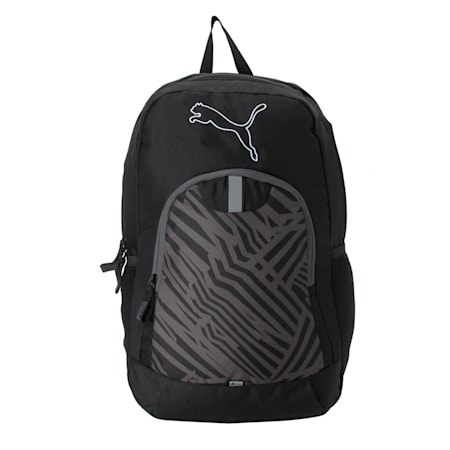 PUMA Echo Backpack IND, Puma Black, small-IND