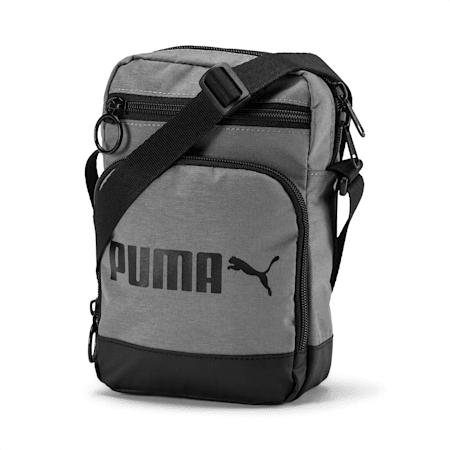 Campus Portable Woven, Puma Black-Steel Gray, small-IND