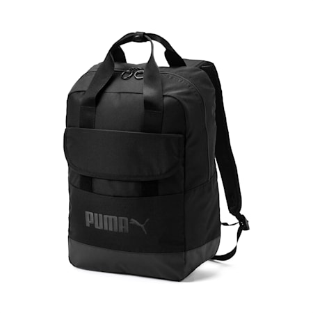 Campus Backpack woven, Puma Black, small-IND