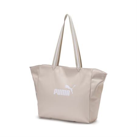 Large Women's Shopper, Silver Gray, small-IND
