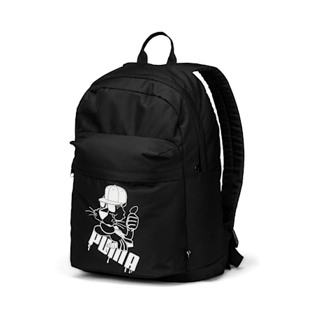 Fast Track SUPER PUMA Backpack, Puma Black, small-IND