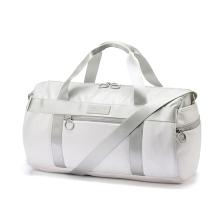 SG x PUMA Style Barrel Bag, Puma White, small