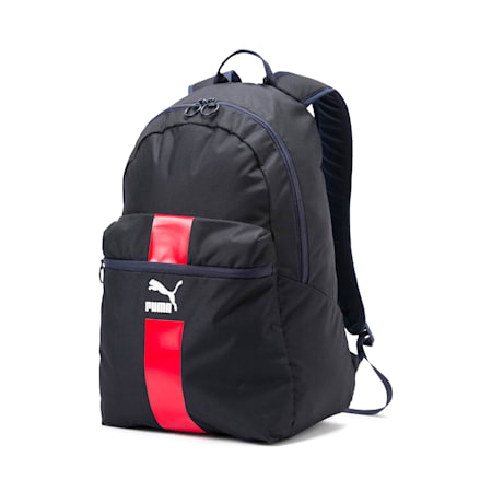 Originals Daypack, Peacoat-High Risk Red-White, small-IND