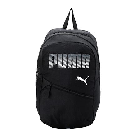 PUMA Plus Backpack IND, Puma Black, small-IND