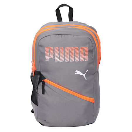 PUMA Plus Backpack IND, Steel Gray, small-IND