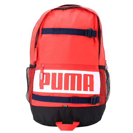 PUMA Deck Backpack IND, Ribbon Red, small-IND