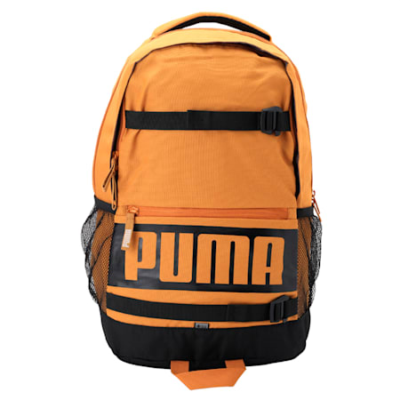 PUMA Deck Backpack IND, Buckthorn Brown, small-IND