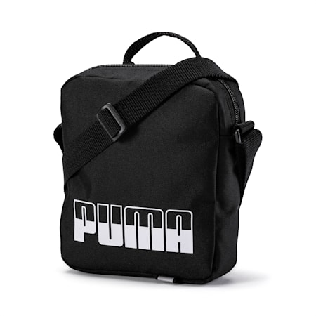 Plus Portable II Shoulder Bag, Puma Black, small-IND