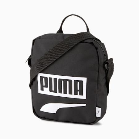 Plus Portable II Shoulder Bag, Puma Black, small-SEA