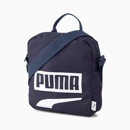 Plus Portable II Shoulder Bag, Peacoat, small-SEA