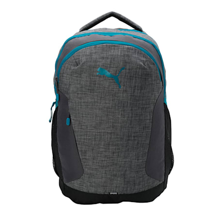 PUMA Pro Backpack, Asphalt-Deep Lagoon, small-IND