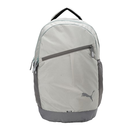 PUMA School Backpack II, Steel Gray-Wrought Iron, small-IND