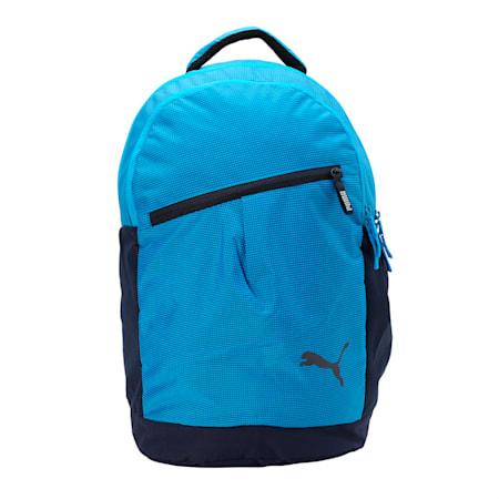 PUMA School Backpack II, Steel Gray-Dresden Blue, small-IND