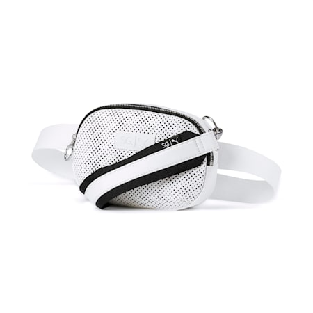 PUMA x SELENA GOMEZ Style Women's X-Body Bag, Puma White, small