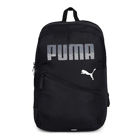 PUMA Plus Backpack, Puma Black, small-IND