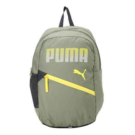 PUMA Plus Backpack, Olivine, small-IND