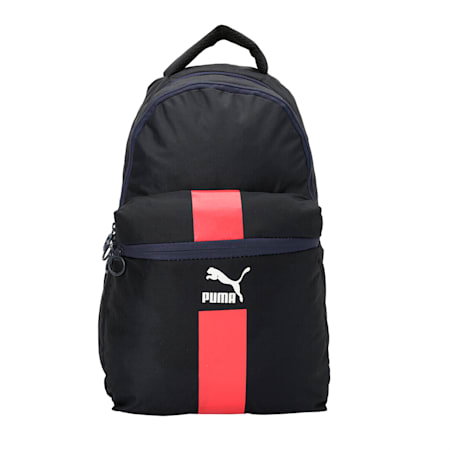 Originals Daypack, Peacoat-High Risk Red- White, small-IND