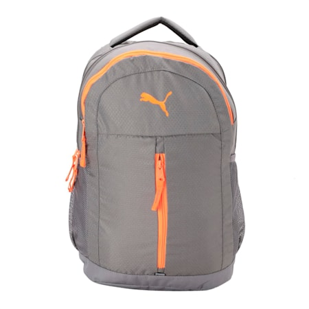PUMA Pals Backpack IND, QUIET SHADE-Shocking Orange, small-IND