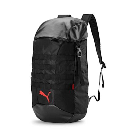 ftblNXT Backpack, Puma Black-Nrgy Red, small