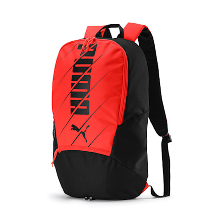 ftblPLAY Backpack, Nrgy Red-Puma Black, small-IND