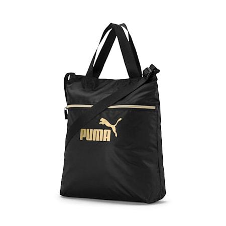 Seasonal Women's Shopper, Puma Black-Gold, small-SEA