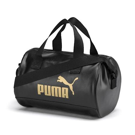 Up Women's Handbag, Puma Black-Gold, small-IND