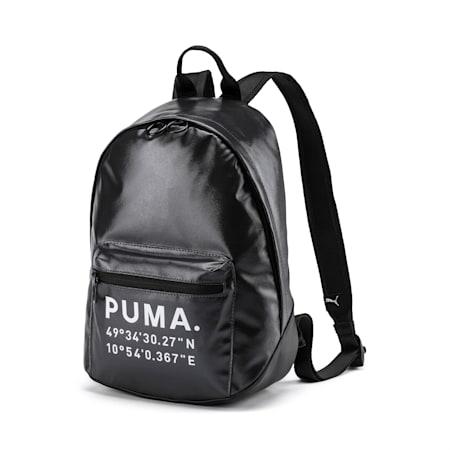 Time Archive Women's Backpack, Puma Black-Gunmetal, small