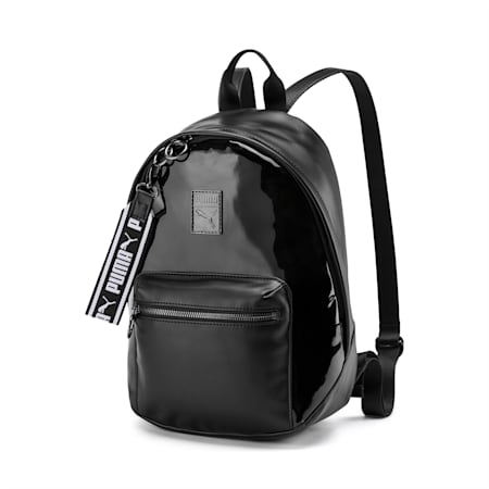 Premium Women's Backpack, Puma Black, small-SEA