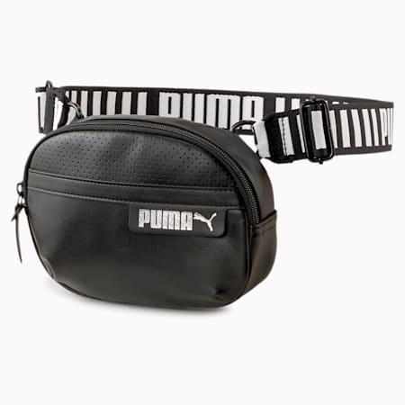 X-Body Cali Women's Shoulder Bag, Puma Black-Puma White, small-SEA