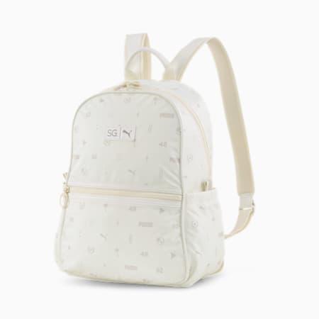 PUMA x SELENA GOMEZ Women's Backpack, Whisper White-AOP, small-IND