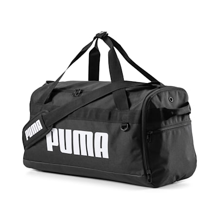 PUMA Challenger Small Duffel Bag, Puma Black, small-GBR