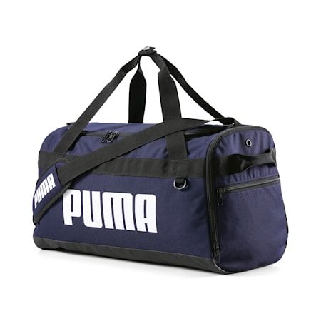 PUMA Challenger Small Unisex Duffel Bag, Peacoat, small-IND