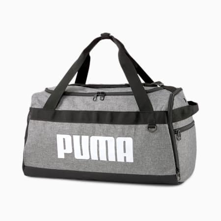 PUMA Challenger Small Unisex Duffel Bag, Medium Gray Heather, small-IND