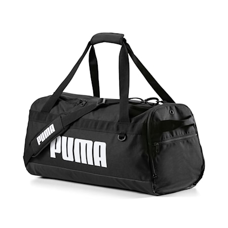 Sredniej wielkosci torba sportowa PUMA Challenger, Puma Black, small