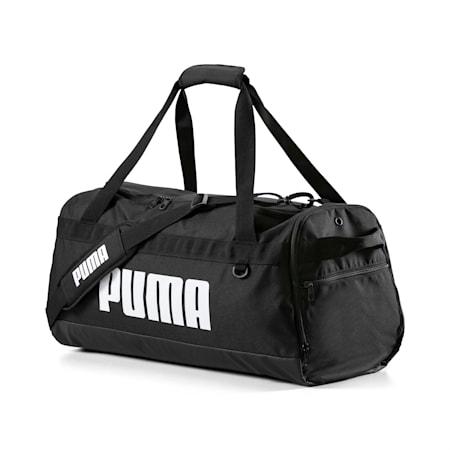 PUMA Challenger Medium Duffel Bag, Puma Black, small-IND