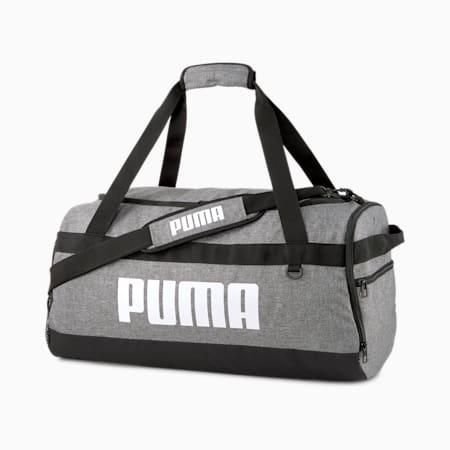 Sredniej wielkosci torba sportowa PUMA Challenger, Medium Gray Heather, small