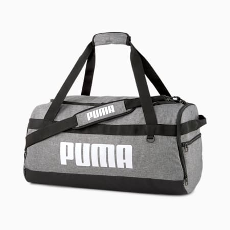 PUMA Challenger Medium Duffel Bag, Medium Gray Heather, small