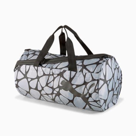 AT ESS Women's Training Duffel Bag, Puma Black-AOP, small-IND
