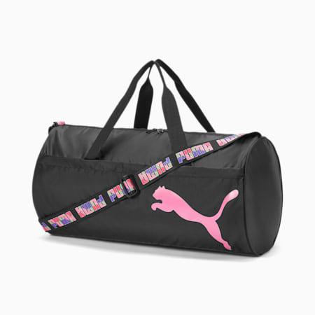 AT ESS Barrel Bag, Puma Black-Bubblegum, small
