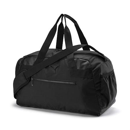 AT Sport Women's Duffel Bag, Puma Black, small-IND