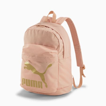 Originals Backpack, Pink Sand-Gold, small-SEA