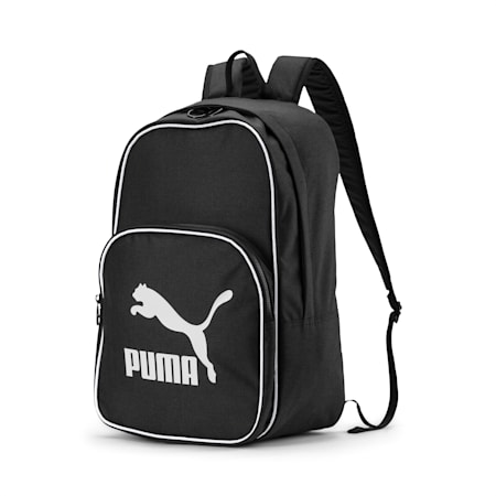 Originals Retro Woven Backpack, Puma Black, small-GBR