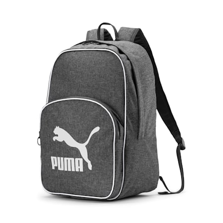 Originals Retro Woven Backpack, CASTLEROCK, small-SEA
