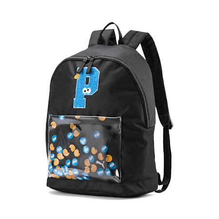 PUMA x SESAME STREET Kids' Sport Backpack, Puma Black, small