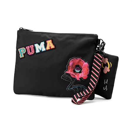 PUMA x SUE TSAI Pouch, Puma Black, small