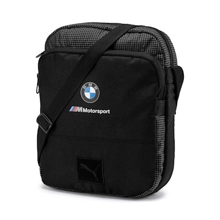 BMW M Motorsport Portable Bag, Puma Black, small-IND