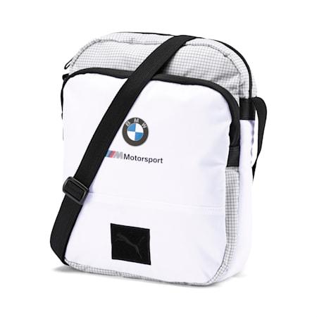 BMW M Motorsport Portable Bag, Puma White, small
