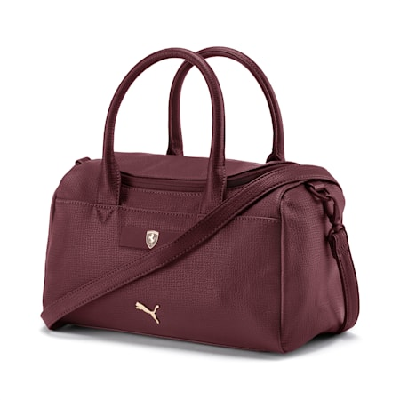 Ferrari Lifestyle Women's Handbag, Vineyard Wine, small-IND