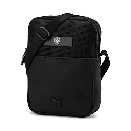Ferrari Lifestyle Portable Bag, Puma Black, small-IND