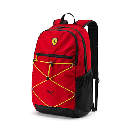 Ferrari Fanwear Backpack, Rosso Corsa, small